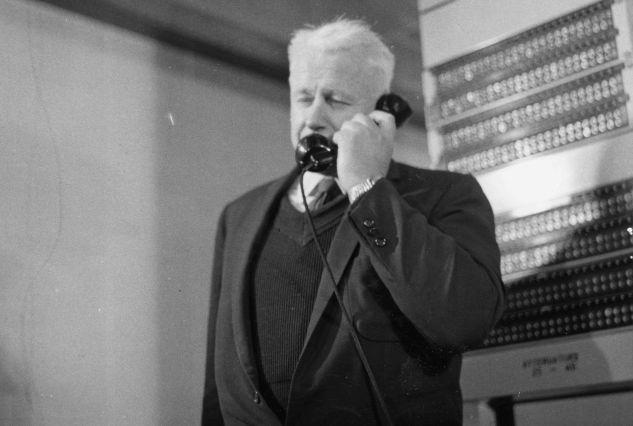 2. juli 1959: Formann i NATOs  infrastrukturkomité, E.H. Merill.