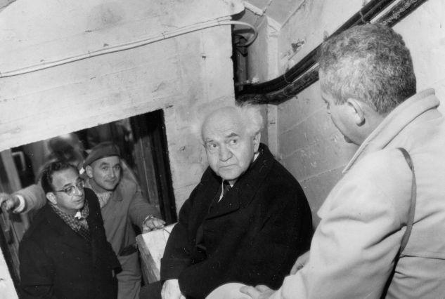 30. august 1962: Israels statsminister David Ben-Gurion
